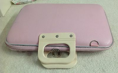 Laptop Notebook Case Bag 14 15 16 inch Pink PU Leather