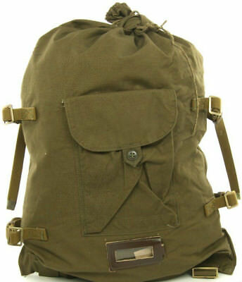 Genuine Soviet Russian Army Military Canvas Bag Backpack Veshmeshok USSR, СССР!