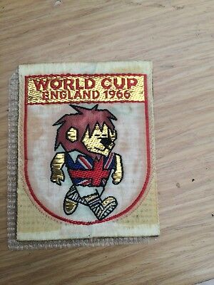 1966 World Cup Willie Stick On Badge Rare