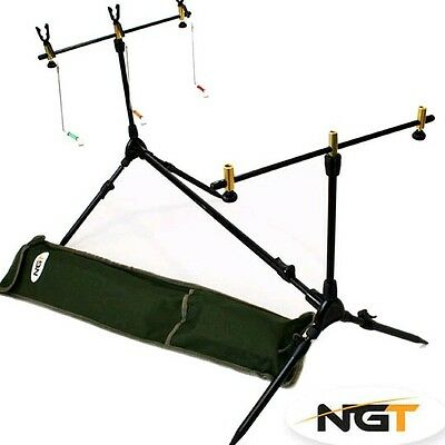 Rod Pod 3 Canne Ngt Completo Session Pod