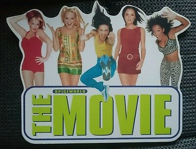 Spiceworld Spice Girls promo cardboard cut out standee