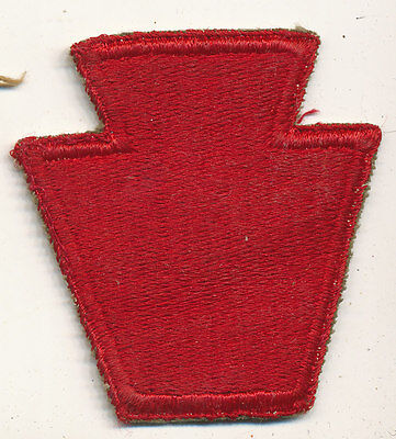 28th Infantry Division patch real WWII make US Army