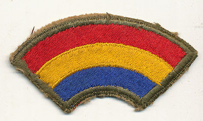 42nd Infantry Division patch real WWII make US Army