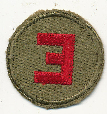 E Coast Artillery Excellence patch real WWII make US Army