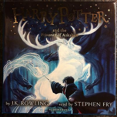 Harry Potter And The Prisoner Of Azkaban CD Read By Stephen Fry