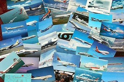 40 Bargain Airline Issue Postcards