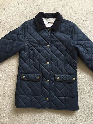 Girls Barbour Style Padded Field Jacket, 13/14 yrs