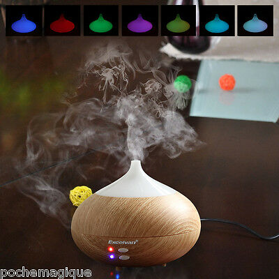 NEW 280ML Aroma Diffuser Ultrasonic Humidifier Aromatherapy Purifier 7 Color LED