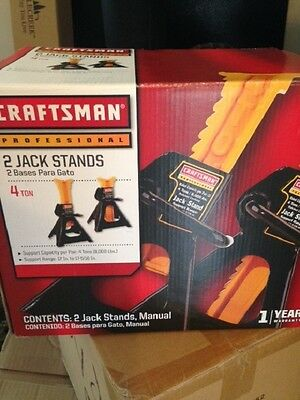 Craftsman Professional 4 -Ton Jack Stands (1 set of two)