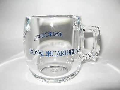 "RARE! Royal Caribbean Cruises Lucite Mug Excellent Condition 3 1/2"" Tall"