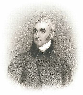 William Wellesley Pole - Brother of the Duke of Wellington - After W. Owen  1815