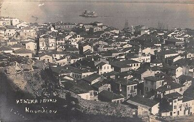 GREECE,  NAUPLIO / NAUPLION,  Panoramic view - Real Photo