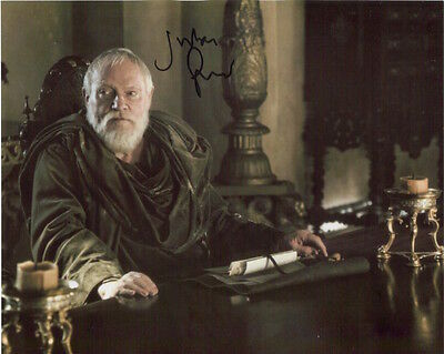 Julian Glover photo Signed In Person - Game Of Thrones - A115