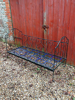 Antique Childs French Iron Bed 1837-1901