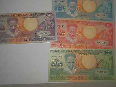 lot billlets du surinam 1986 1988