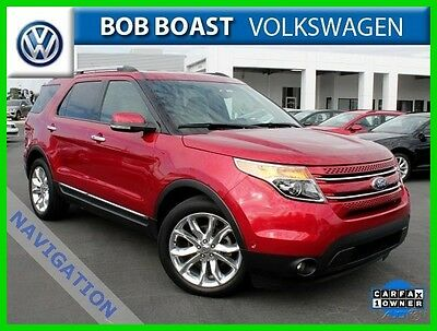 2011 Ford Explorer Limited 2WD  3RD row 2011 Limited 2WD  3RD row Used 3.5L V6 24V Automatic Front-wheel Drive SUV