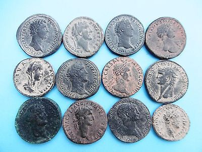 Lot Of 11 Sestertius And As