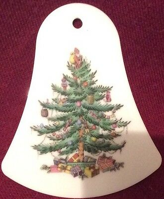 ��Spode Christmas Tree Bell Shaped Decoration.��
