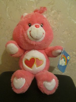 Care bears love-a-lot plush - new with tag