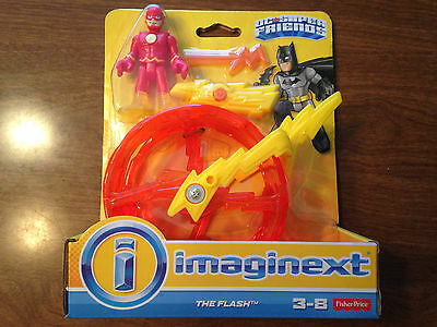 Fisher Price Imaginext Justice League DC Comics Flash with Cycle Wheel