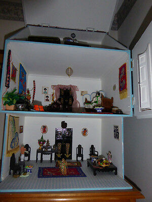 1/12 scale Asian style doll's house