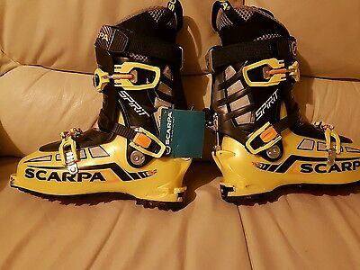 Scarpa Spirit Ski Boots Size 26.5/27 New With Tags