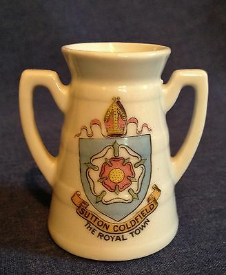 Crested  China. Sutton Coldfield Vase.