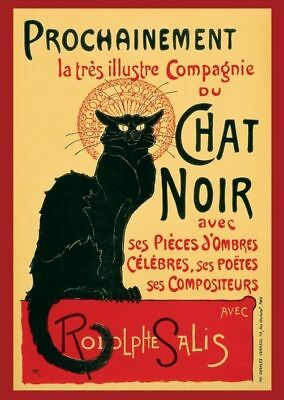 Le Chat Noir - Brand New Classic French Art Poster
