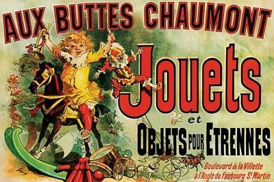 Jouets (as seen in Friends)-Brand New French Art Poster