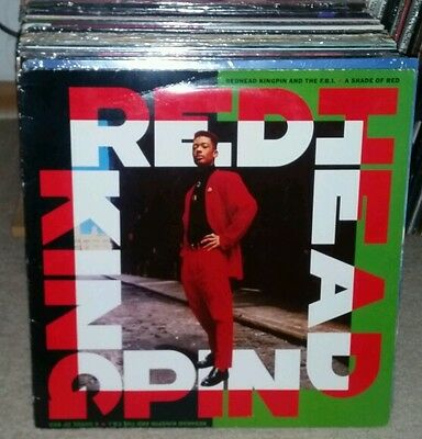 Redhead Kingpin & The Fbi A Shade Of Red  Lp 1989