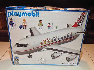 Playmobil Airplane Rare Hard to Find 4310 Sealed in Original Box - NEW