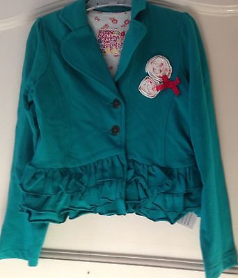 Brand New Girl's Green Jacket Size 8
