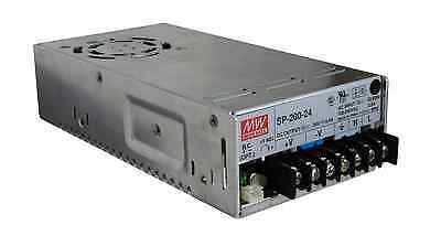 Mean Well SP-200-24 RC 24V DC 200W 8.4A Variable Output Power Supply PSU LapSafe
