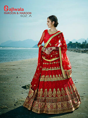 Indian Wedding Lehenga Choli Designer Women Heavy Work Bridal Ghagra Rus1739