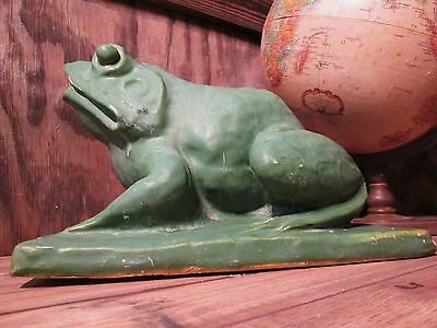 Antique Early 1900's Rare Art Pottery Frog Fountain Gladding McBean Rookwood