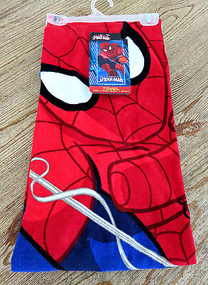 "NWT Marvel Ultimate Spider-Man 25"" X 50"" 100% Cotton Towel"