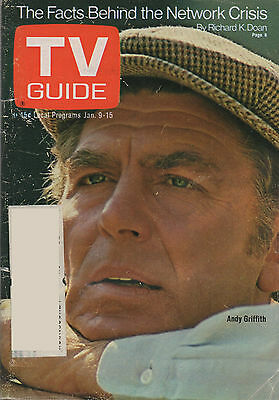 1971 TV GUIDE Andy Griffith Jan 9-15