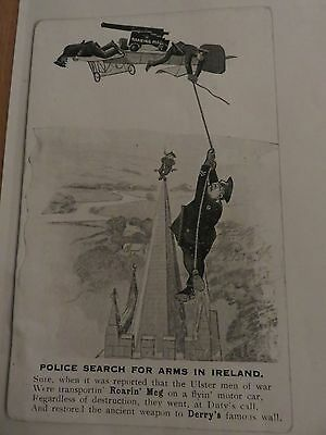 Ruc Poster - Police Search For Arms - Derry
