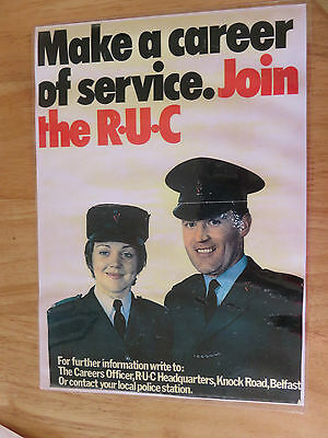 RUC RECRUITMENT POSTER A4 (Collector's item)