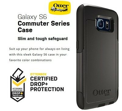 Lot Of 12 Brand New! Samsung S6 Otterbox Black Commuter Case Cover 77-51202