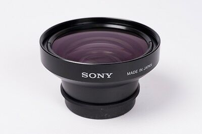 Sony Wide conversion lens x 0,7- for fits in 52mm filter Sony Dvcam
