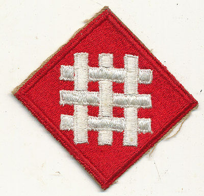 6th Army Group patch real WWII make US Army
