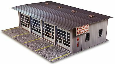 1:48 O Gauge Scale 4 Stall Pit Garage Photo Real Scale Model Building Kit Sets