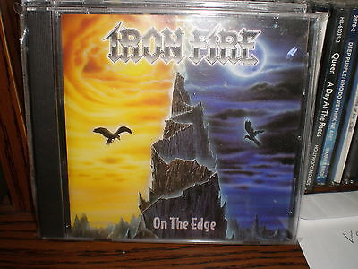 Iron Fire On The Edge Cd New