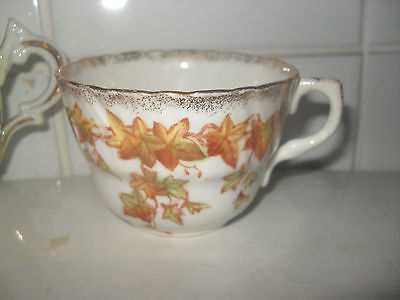 two victorian cups in german porcelain