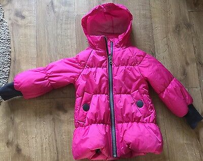 Girls Pink Designer Coat - 5 Years