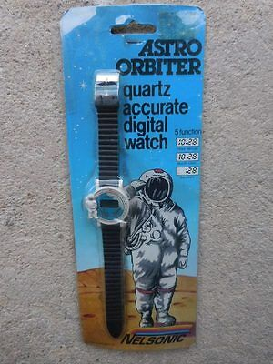 Rare Astro Orbiter Space Exploration Astronaut Watch By Nelsonic Hong Kong