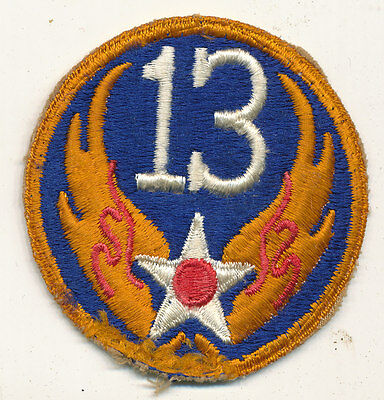 13th Air Force real WWII make US Army Air Force USAAF