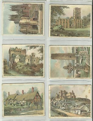 Players Cigarette Cards - THE NATIONS SHRINES - Full Set of 25