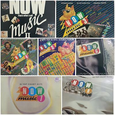 Now Thats What I call Music (Double LPs) Now 2,3,4,5,6,7,8 EMI/Virgin 1980's POP